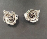 Silver Metal Clay Roses