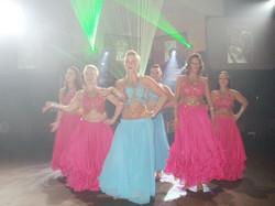 Live Bollywood dancers