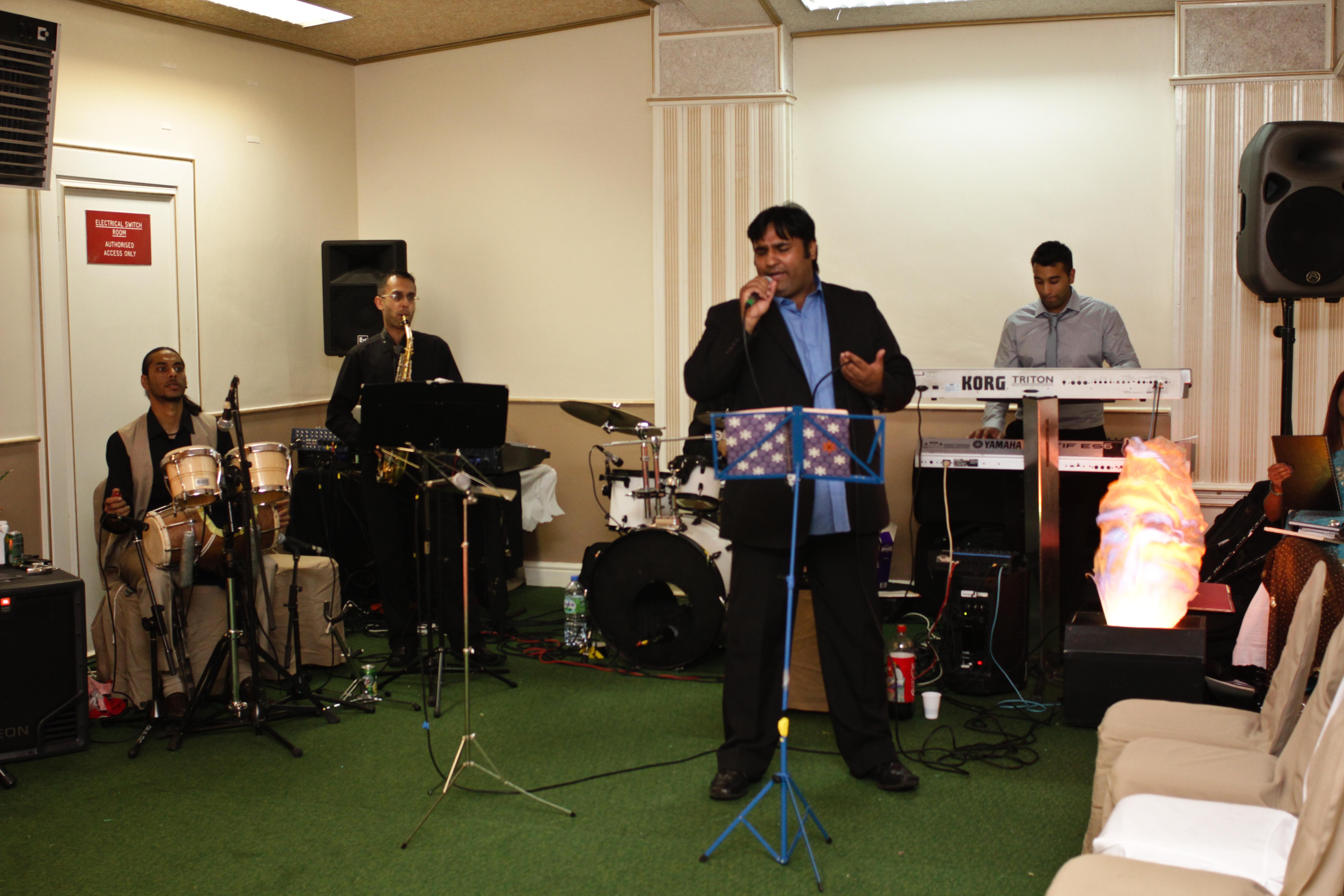 Live Bollywood Jazz band