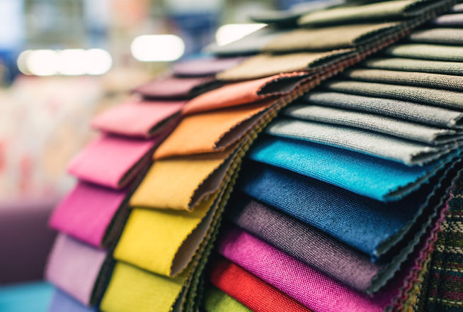 Colorful upholstery fabric samples.jpg