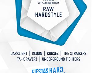 Ta-K RaverZ nominated to best RAW HARDSTYLE artist in 2017. FHE AWARDS 2017