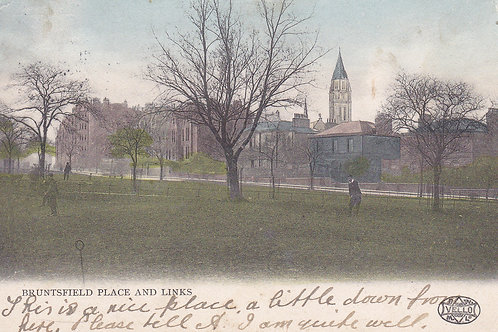 Brunsfield Place & Golf Links C.1904 Ref.448