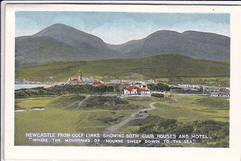 Newcastle,County Down Ref 508 C.1930s & 50s