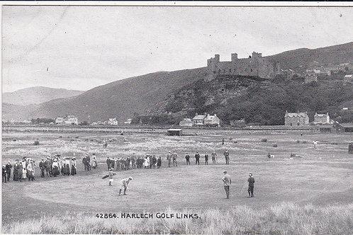 Harlech.Vardon/Braid Match, Ref 429 C.1910s