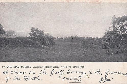 Aviemore Golf Course Ref.2242a C.pre 1905