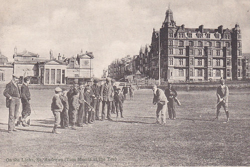 Tom Morris at St.Andrews Ref.097 C.1903-07