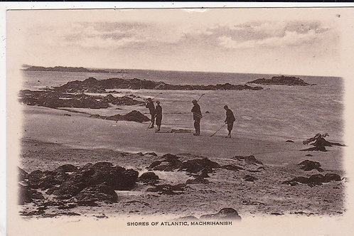 Machrihanish Caddies on the Beach Ref 192