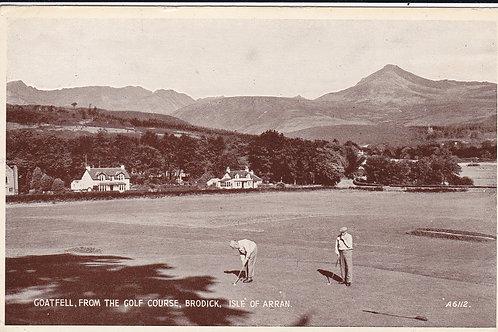 Brodick Golf Course Ref.1678 C.1945