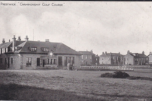 Prestwick (Old) Club House Ref 494 C.Early 1900s