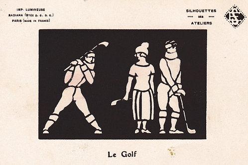 Silhouettes Le Golf Ref.2182a C.Ea1900s