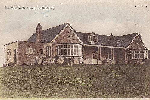 Leatherhead Golf Club House Ref.921 C.1930