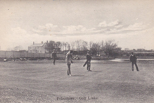 Felixstowe Golf Links & Club House Ref.1555a pre 1914