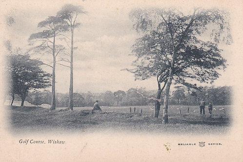 Wishaw Golf Course Nr. Hamilton Ref.2220a C.1905-10
