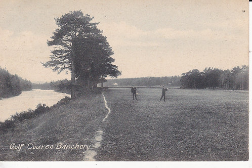 Banchory Golf Course Ref.1563 C.1906