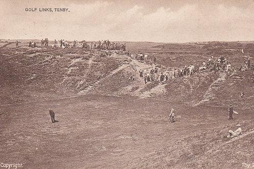 Vardon v Braid Tenby,Pembroke.Ref 321.C.1920s