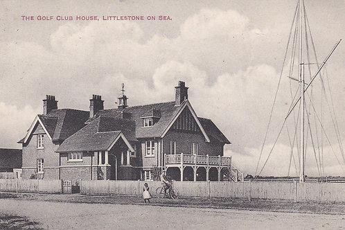 Littlestone Golf Club House  Ref.1025a C.pre 1914