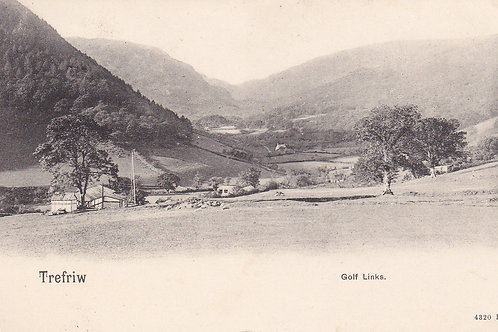 Trefrew Golf Links,Nr.Llanwrst.Ref 298. C.1902-04