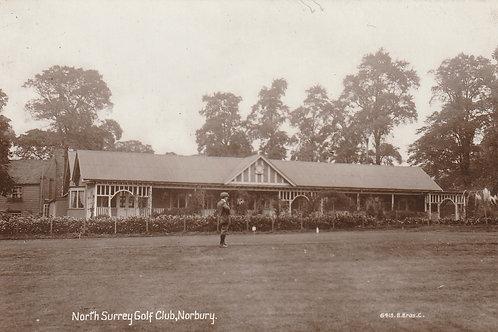 North Surrey  Golf Pavilion Ref.2287a C.Pre 1914 MINT