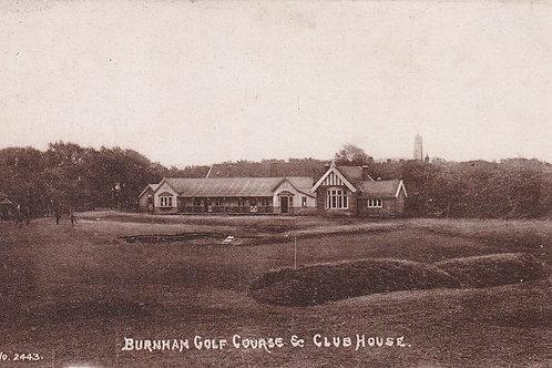 Burnham Golf Links & Club House Ref.1553a