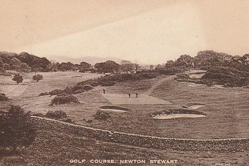 Newton Stewart Golf Course Ref.2407 C.1920-26