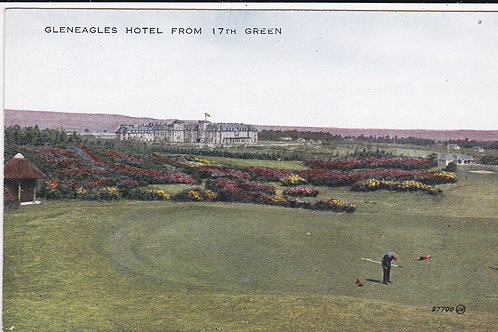 Gleneagles Hotel from 17th Green.Ref 1213 C.1900