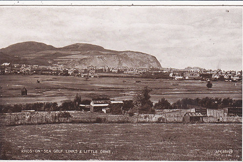 Rhos-on-Sea Golf Course Ref.524 C.1920s