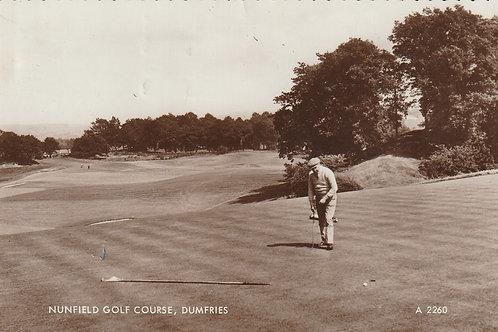 Dumfries & County Golf .Course . Ref.2734 C.1950s