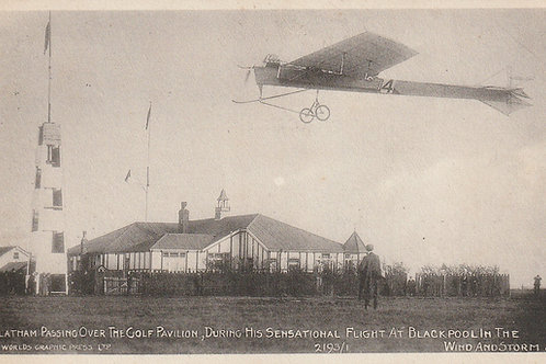 Latham,  A,C,H at Blackpool North Shore Golf House Ref.2495 C. Oct.1909