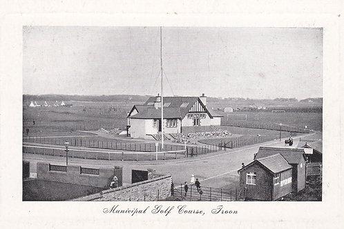Troon Municipal Golf Course.Ref 674.   C.1910-15