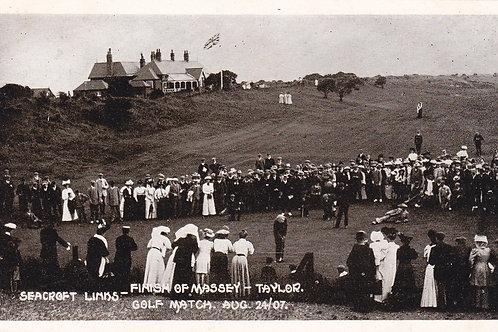 Seacroft,Taylor/Massy Golf Match.Ref 761.C.24.8.1907