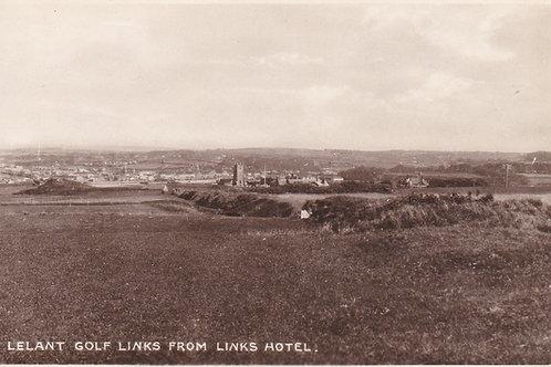Lelant Golf Links,West Cornwall.Ref 384. C.1920s?