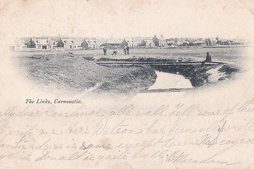 Carnoustie Links C.1901 Ref.800a Victoria Stamp