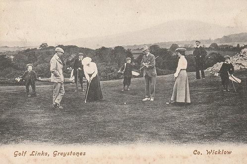 Greystones Golf Links, Wicklow Ref.2518 C.1904?