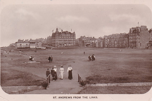 SOLD>Ref.2102a.St.Andrews from the Links Ref.2102a C.Pre 1914