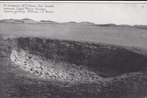 St Andrews.Lions Mouth Bunker Ref.221