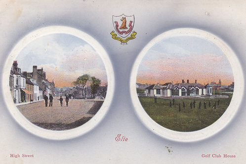 Elie Golf Links Dual View Ref.2191a C.1905-10