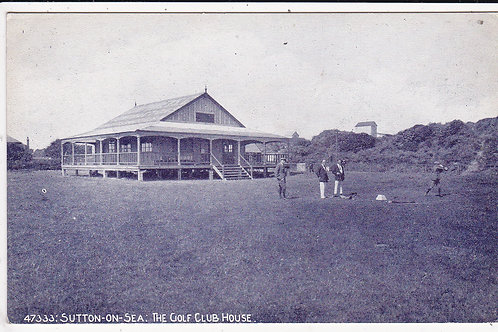 Sutton-on-Sea Golf Pavilion Ref.1508 C.Pre 1914