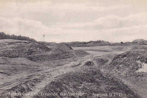 Formby Golf Links,7th Hole.Ref 391.C.Early 1900s