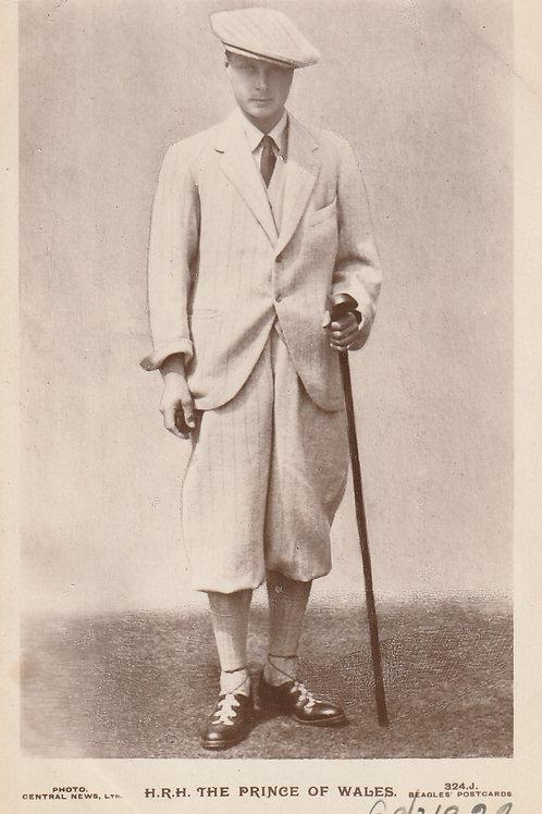 H.R.H.Prince of Wales Ref.2749 C.1922