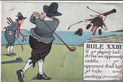 Chas.Crombie Rules of Golf Ref.1278 C.1907