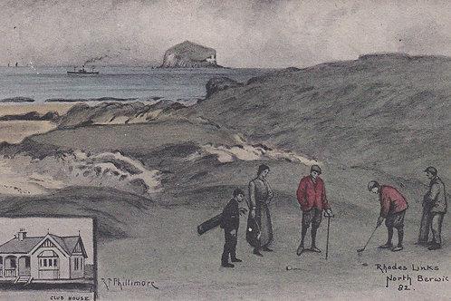 North Berwick Rhodes, (East Links) C.Pre 1914 Ref.346a