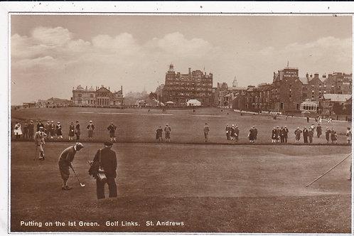 St.Andrews 1st Green Ref.503 C.19