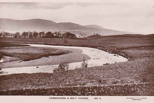 Carsphairn & The Golf Links.Ref 265. C.1920s-30s
