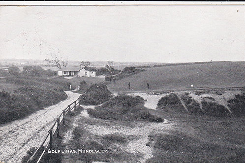 Mundesley Golf Links,Norfolk Ref 410 C.1913