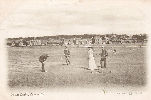 Carnoustie.On the Links Ref.2263a C.1913