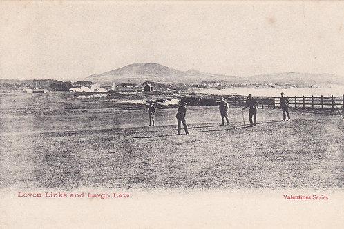 SOLD>Ref.068.Leven Links & Largo Law,Fife C.1900-05