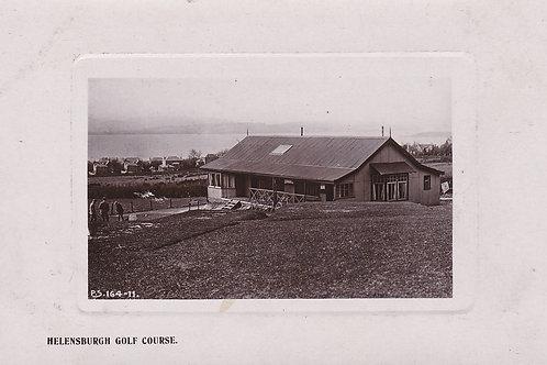 Helensburgh Golf Pavilion (Tin) Ref.588a C.Pre 1909.