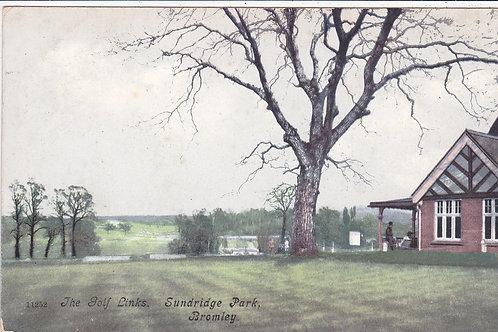 Sundridge Park Golf House C.Ea 1900s Ref.826