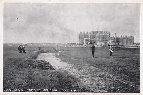Cleveleys Golf Links,Blackpool Ref.1572a c.1909
