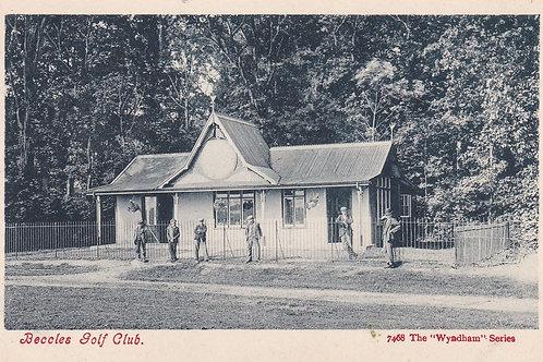 Beccles Golf Pavilion Ref.2207a  C.Pr 1914